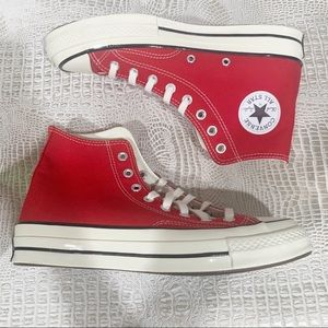 Converse Chuck Hi Red Sneakers